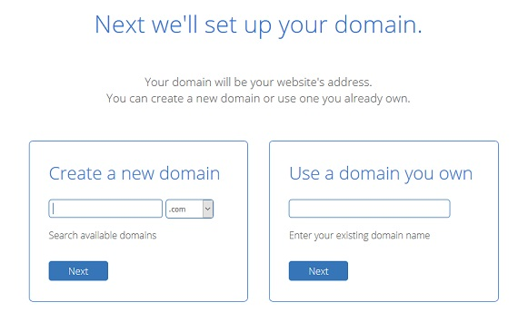 set up domain in bluehost