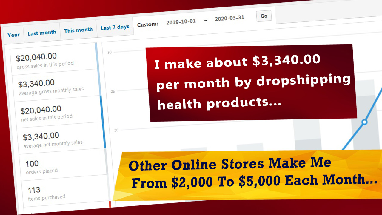 sell physical products