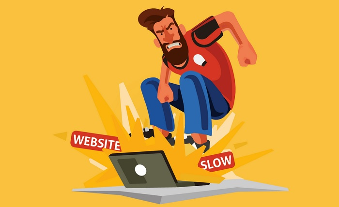 website page load times